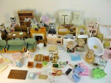 Lot Of Calico Critters Sylvanian Family Animals Furniture & Accessories Kitchen