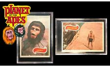 1969 Planet Of The Apes 42 & 43 * Roddy McDowall * Charlton Heston * Topps Cards