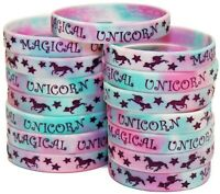 Unicorn Party Favors - 15 Pack of Wristbands for Magical Unicorn Themed Parties!