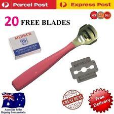 Foot File Dry Skin Remover Callus Shaver Corn Cutter Tool Pedicure 20 Blades