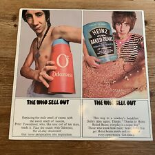 """The Who - The Who Sell Out 12"""" Vinyl Album With Poster"""