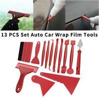13PCS Set Auto Car Wrap Film Tools Squeegee Scraper Kit Window Tint Glue Re V9R8