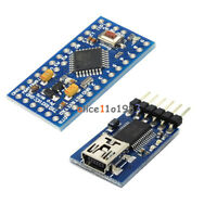 Pro Mini atmega328 5V 16M Arduino Compatible+FIDI FT232RL USB to Serial  adapter