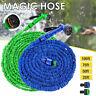 Expandable Flexible Hose 25 50 75 100 FT Water Pipe Spray Nozzle Garden Car Wash