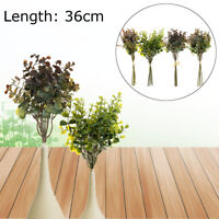 Artificial Leaf Eucalyptus Green Plant Flowers Nordic Home Garden Decor 1 Bunch