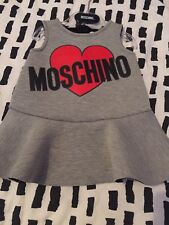 Moschino Baby Girls Dress 3 - 6 Months