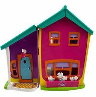 Vtg Polly Pocket Magnetic Doll House Elevator Pink Purple Mattel 2002 Playset