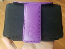 FASHION FOLIO PURPLE FLIP CASE FOR NINTENDO DS LITE OR DSi SYSTEMS AND GAMES!