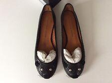 Marc Jacobs Black leather Mouse ballet pumps Size 37.5