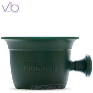 PRORASO Green Professional Mug, Heavy Duty Barber Grade Shaving Cream Bowl