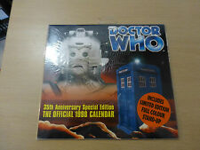 Doctor Who 35th Anniversary special Edition Calendar 1998