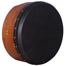 """16""""x6"""" Heartland Tunable Irish Bodhran Rosewood with Black Goat Skin, Irish Drum"""