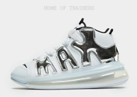 Nike Air More Uptempo 720 White Blue Black Men's Trainers All Sizes