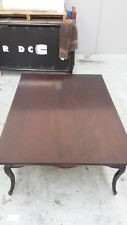 Wooden dark brown coffee table in very good condition