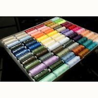 Sewing Thread 500y Reels Assorted Colours 10 20 30 and 72
