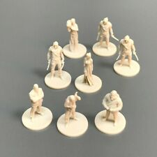 8pcs Dungeons & Dragons DND Miniatures War Board Game Figure