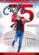 Cliff Richards 75th Birthday Concert Performed at The Royal Albert Hall [DVD]