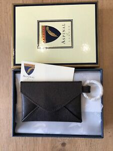 Aspinal Of London Card Holder / Key Ring BRAND NEW BOXED