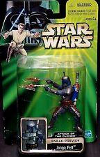 Ataque de los Clones De Star Wars Jango Fett demostración! nuevo! Temuera Morrison