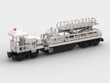 LEGO Custom Modular Building - Rail Maintenance Train 5 - ONLY PDF INSTRUCTIONS!