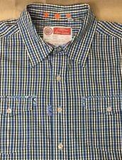 ROBERT GRAHAM Freshly Laundered Shirt Plaid Dress Shirt Mens L Large