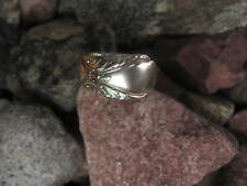 1940 Antique Spoon Ring Size 5.75 R22 Western Skies Silver