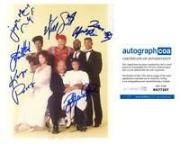 """""""The Fresh Prince of Bel-Air"""" Cast AUTOGRAPHS Signed 8x10 Photo - Will Smith +6"""
