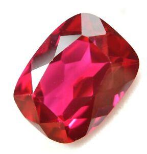 Natural Mogok Pink - Red Ruby 12.75 Ct Certified 15 x 11 mm STUNNING Gemstone