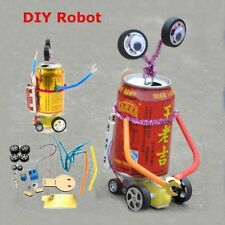 DIY Tin Drinks Can Robot Build your Own Science Kit Kids Science Toy Gifts