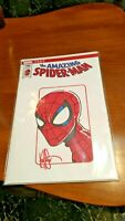 """""""Amazing Spider-Man #789 ltd series copies signed and remarked by Ken Haeser"""