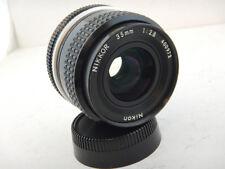 Nikon 35mm f2.8 AI Nikkor Ottime Condizioni Lens Obiettivo FM2 FE FM3a