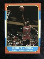 Michael Jordan 1986-87 Fleer Rookie RC Reprint Sports Journal No# Card NMMT