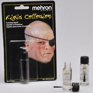 Mehron Rigid Collodion FX Scarring Liquid Special Effects 4ml