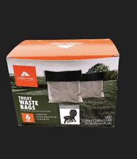 Ozark Trails Double Doodie Toilet Bags With Bio Gel 6 Pack
