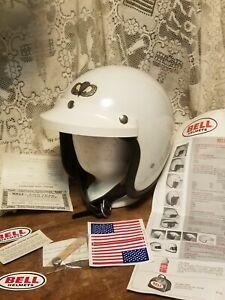 Vintage BELL Toptex Helmet - New 520 Bell Visor - SIZE 7 - Rare - Original