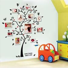Photo Family Tree DIY Removable Wall Decals Sticker Vinyl Mural Room Decor Art