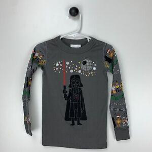 Hanna Andersson Star Wars Darth Vader Cotton Holiday Long Sleeve Pajama Top