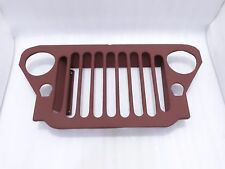 BRAND NEW WILLYS JEEP MB FORD GPW 41-45 FRONT GRILL STEEL #G475 @VT