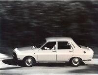 Renault 12 Gordini original press photo