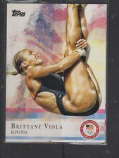 BRITTANY VIOLA - 2012 OLYMPICS -   TOPPS #38