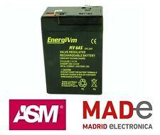 Batería de plomo AGM - 6V 4,5Ah - EnergiVm MV645