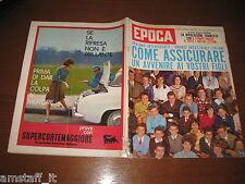 EPOCA 1962/610=LA PRESA DELLA BASTIGLIA=STRAVINSKY=SCOTT CARPENTER=