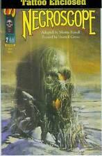Necroscope # 2 (of 5) (with tattoo) (Malibu USA, 1992)