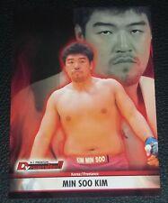 Min Soo Kim 2008 K-1 Premium Dynamite Trading Card #30 MMA UFC Hero's Grand Prix