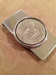 USA Dollar coin money clip EAGLE (tails side of Susan B. Anthony dollar coin)