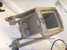 Nissan Patrol 3.0 Y61 97-13 centre console arm rest storage cubby cup holder.