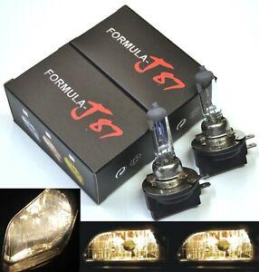 Halogen H11B 55W 3800K Stock Two Bulbs Head Light Low Beam Replace OE Fit Lamp