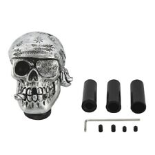 Car Manual Gear Stick Shift Knob Shifter Lever 5/6 Speed Skull Head Bone Style