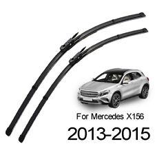 XUKEY Front Windscreen Wiper Blades For Mercedes-Benz GLA250 GLA45 X156 13-15