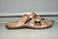Vionic Misa Rose Gold Slides Sandal Shoe Women 7 Wide